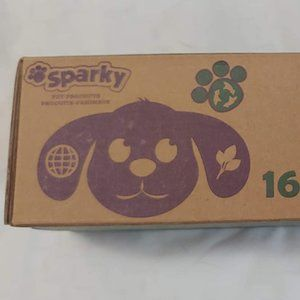 NEW SPARKY POOPY SAC 13 X 7.8 160 COUNT